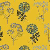 Inprint Chelsea Physic Garden - 4049 - Cowslip - Yellow - 8950 Y60 - Cotton Fabric
